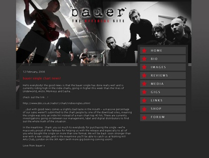Bauer Homepage