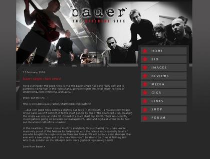 Bauer Homepage