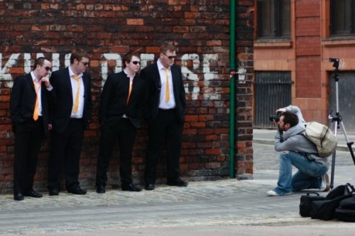 Divided Attention Photoshoot